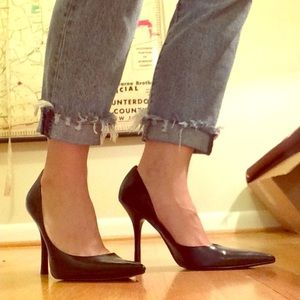 EUC GUESS Carrie d'orsey pump in black, 10M